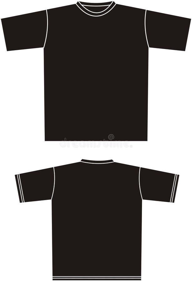 3 skjorta t royaltyfri illustrationer