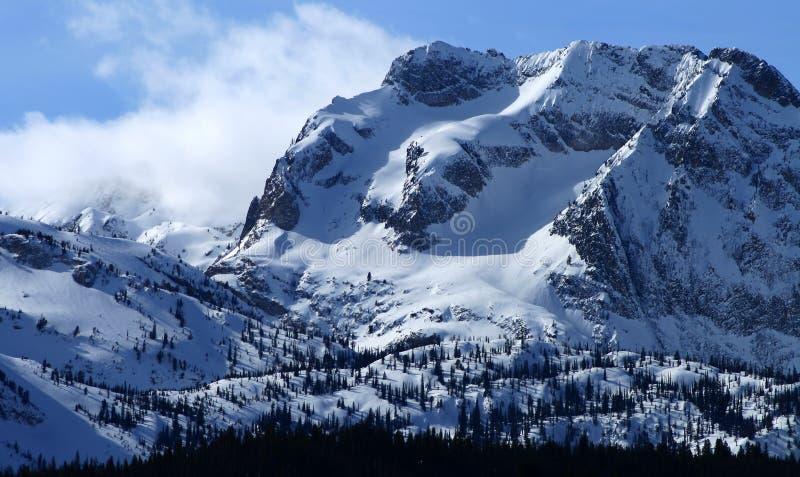 3 szczytów sawtooth fotografia royalty free