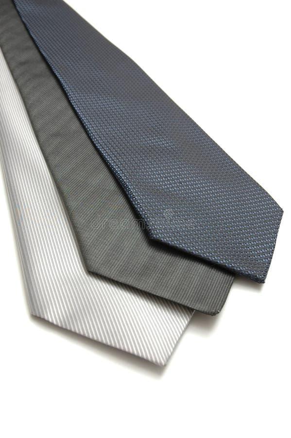 3 szyi krawat obraz stock