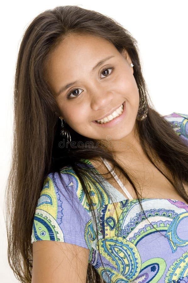 3 teenager variopinti immagine stock