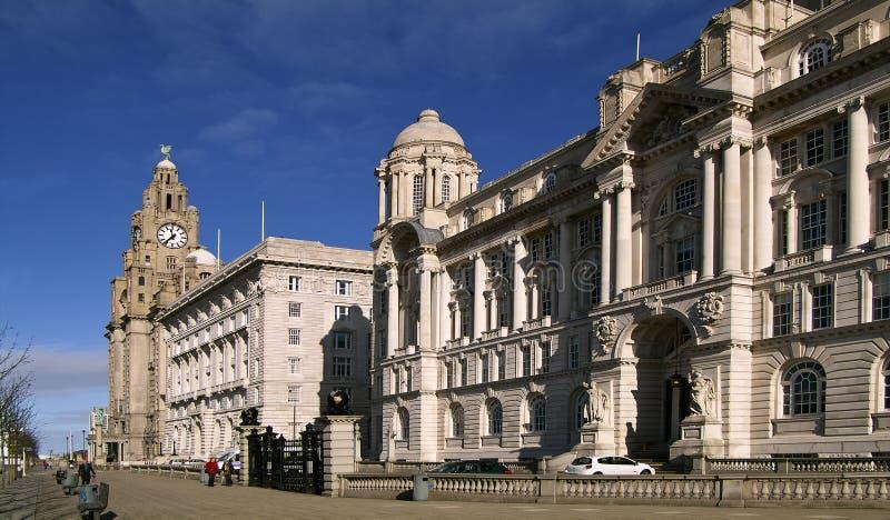3 tolerancias Liverpool fotografía de archivo libre de regalías