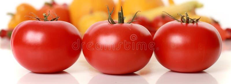 3 tomates photos libres de droits
