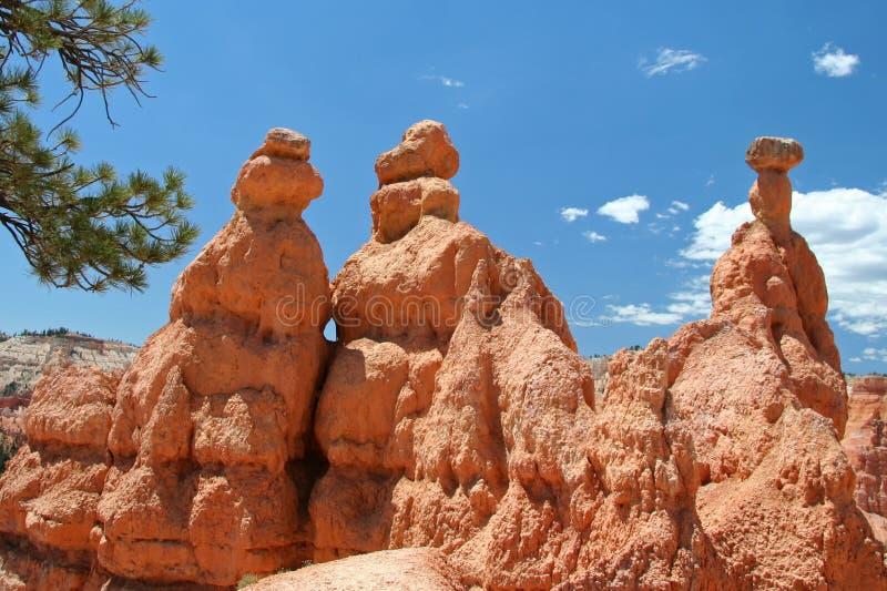 3 torres de la roca foto de archivo libre de regalías