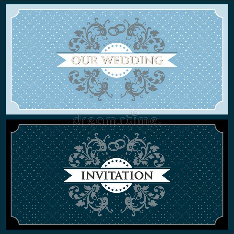 3 ustalony ślub royalty ilustracja