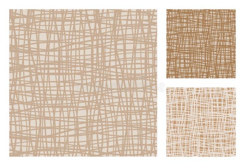 3 versiones de retro-modelos abstractos libre illustration