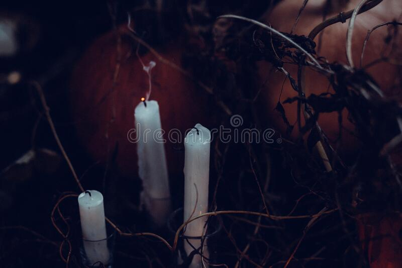 3 White Candles Without Light Free Public Domain Cc0 Image