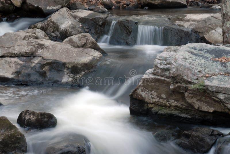 3 wodospady nh obraz royalty free