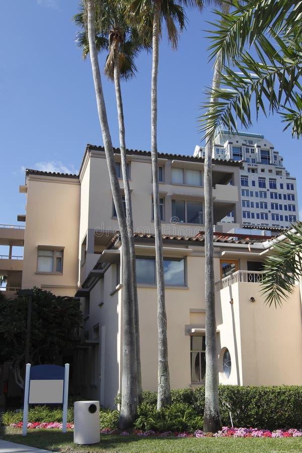 3 wpb plażowy palmowy uniwersytecki Atlantic zdjęcia stock