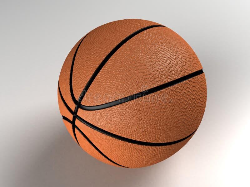 3 wymiarowe koszykówki ilustracja wektor