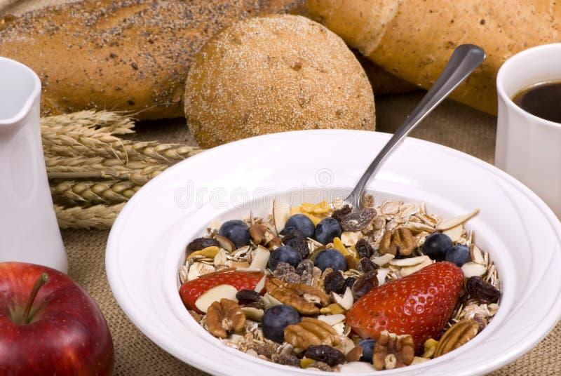 3 zdrowe śniadanie zdjęcia royalty free