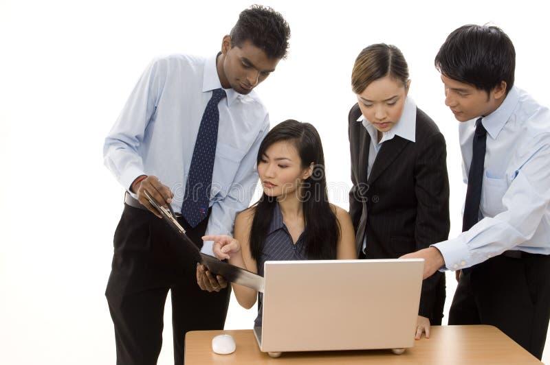3 zespół przedsiębiorstw obrazy stock