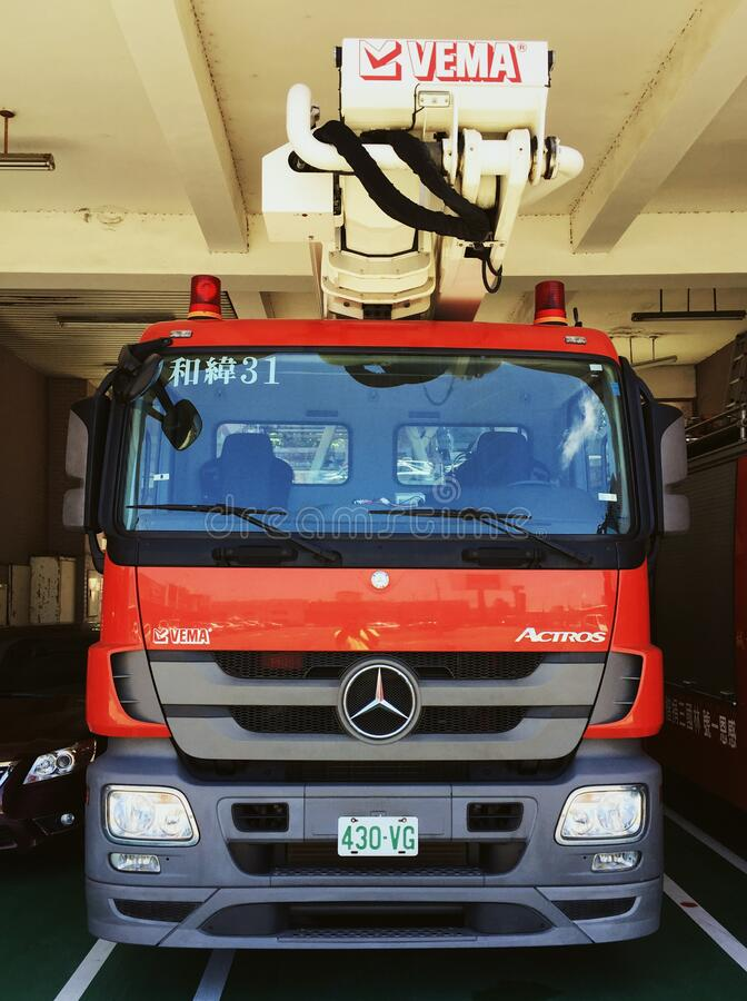 30/365 Fire engine royalty free stock photography