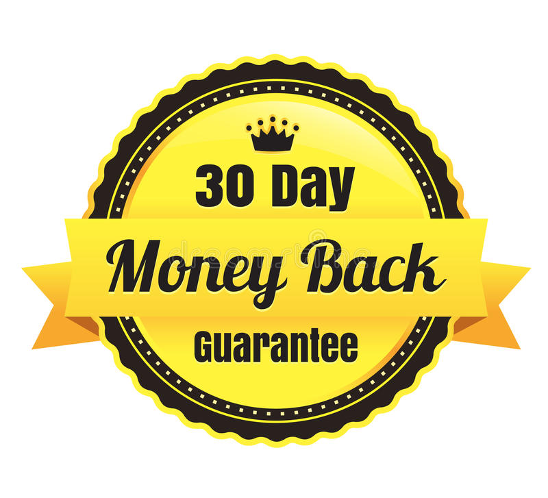 Download 30 Day Money Back Ecommerce Badge Stock Vector - Image: 37638329