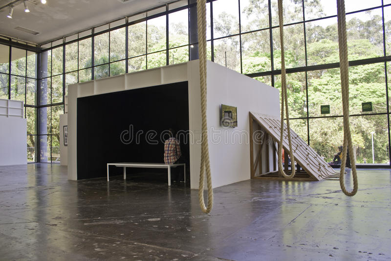 Download 30 Sao Paulo Art Biennial editorial image. Image of flooring - 26633320