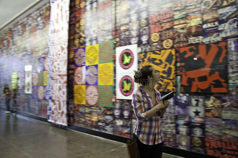 Download 30 Sao Paulo Art Biennial editorial photo. Image of mural - 26633466