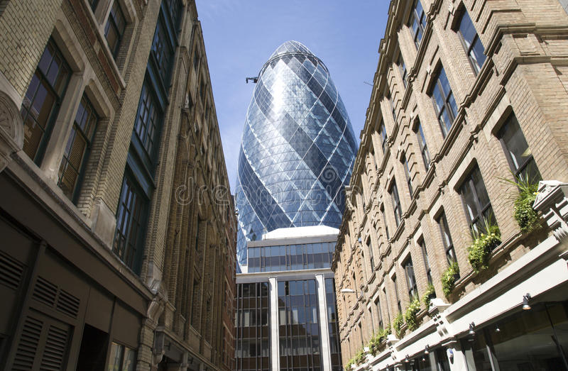 Download 30 St Mary Axe, Gherkin editorial stock image. Image of capital - 20729469