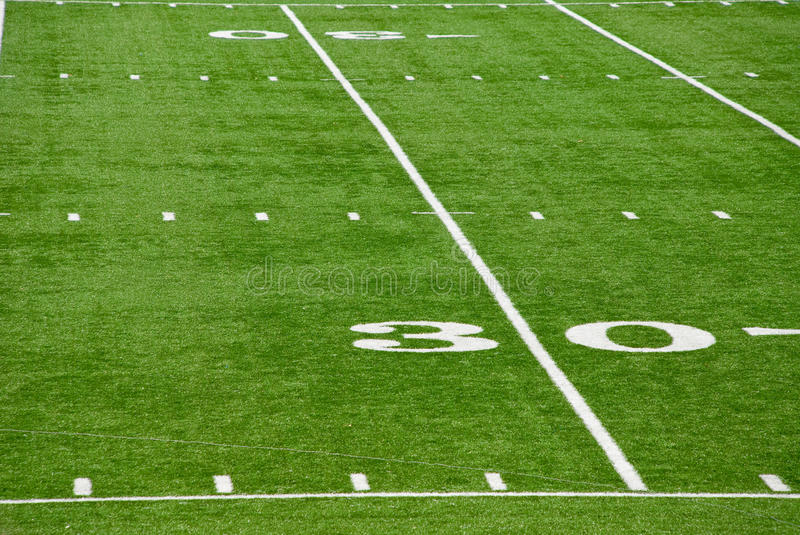 Download 30 Yard Line stock photo. Image of referee, contact, player - 15023376