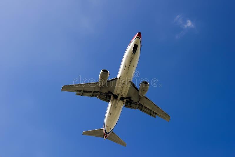 300 737 flygplan boeing royaltyfria bilder