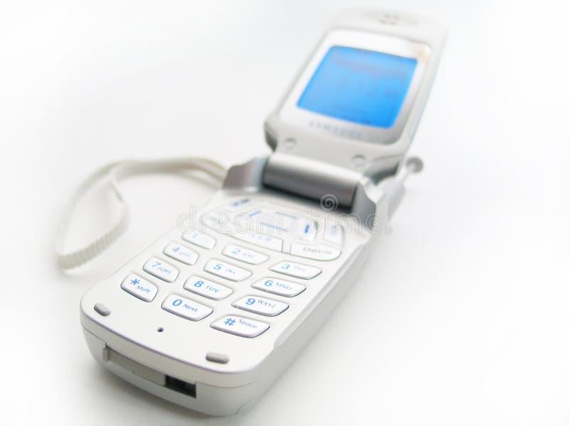 电池开放电话 免版税图库摄影