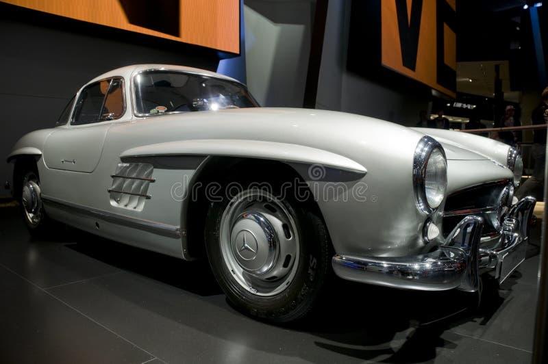 300sl benz gullwing Mercedes jezierze zdjęcie royalty free