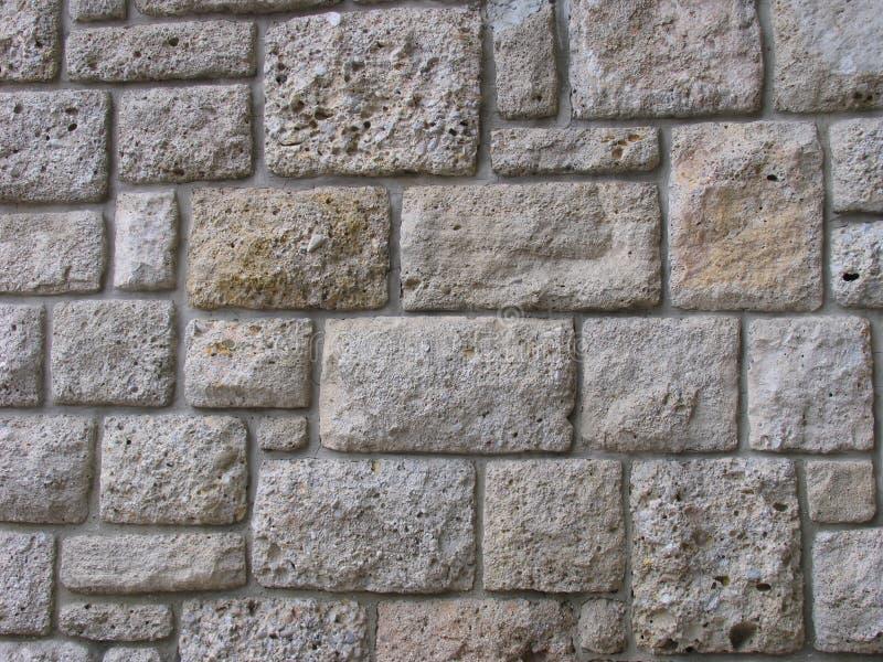 石墙 库存照片