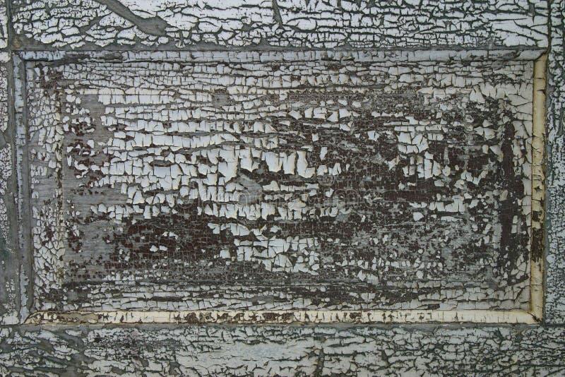 破裂的油漆削皮 库存照片