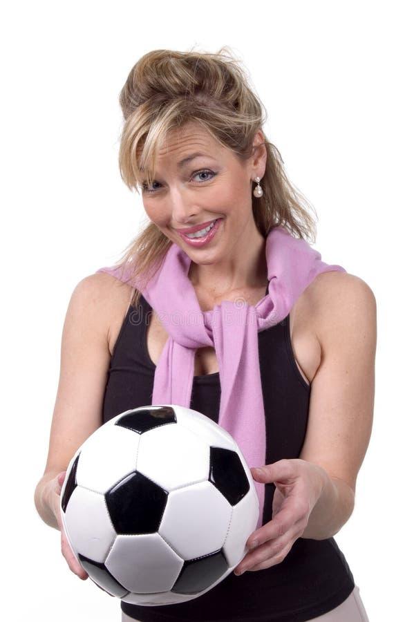 30s mom soccer στοκ φωτογραφίες