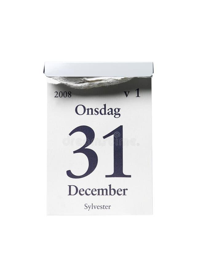 31 Δεκεμβρίου στοκ εικόνες με δικαίωμα ελεύθερης χρήσης