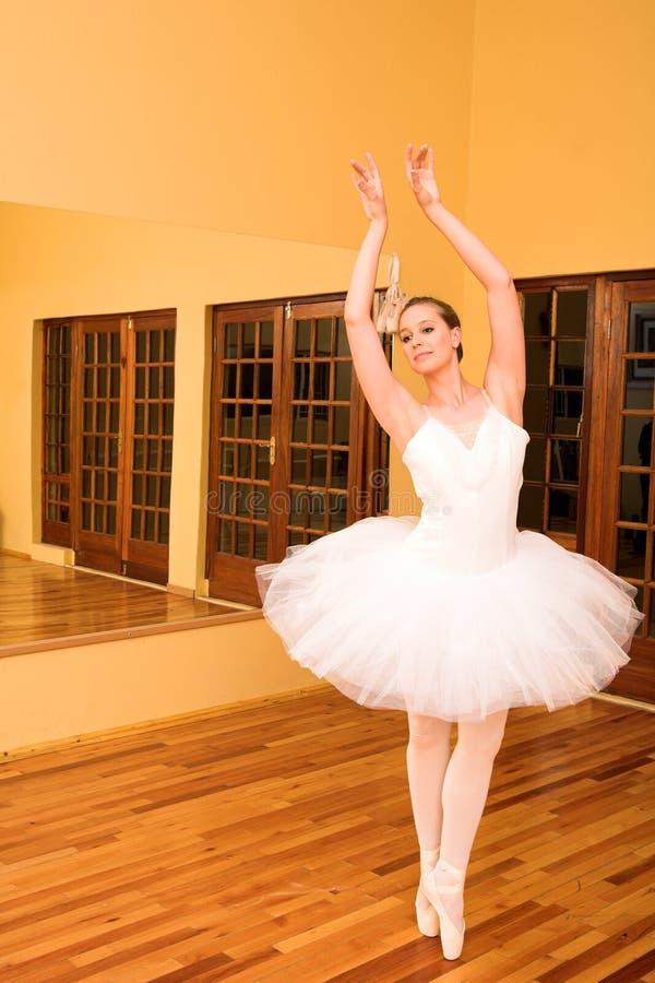 32芭蕾舞女演员 库存图片