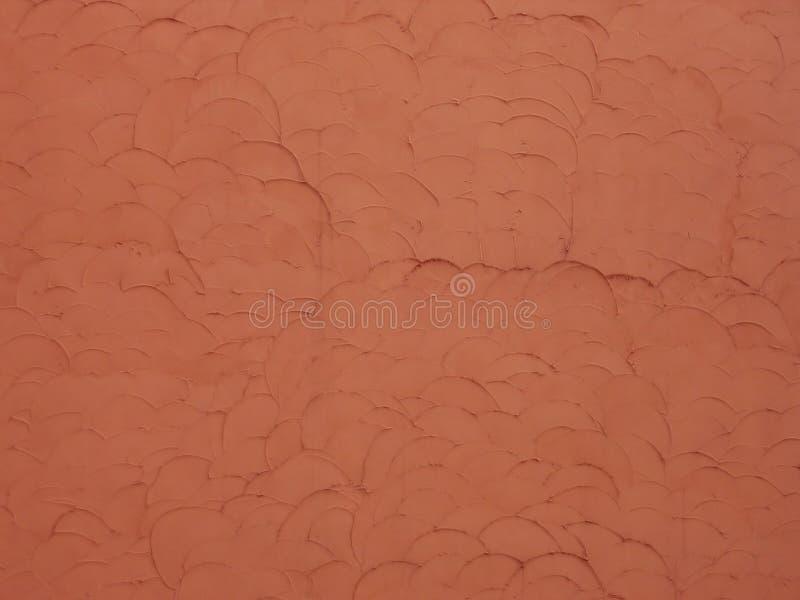 红色称纹理墙壁 免版税图库摄影