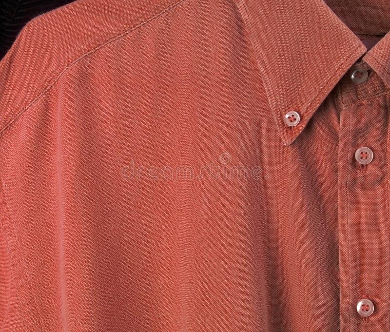 红色衬衣 库存照片