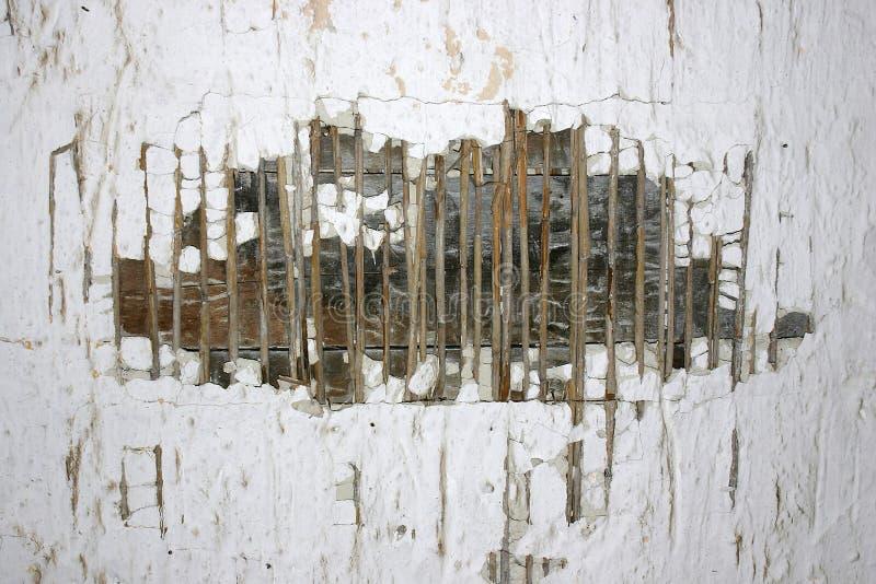 老被破坏的纹理墙壁 免版税库存照片