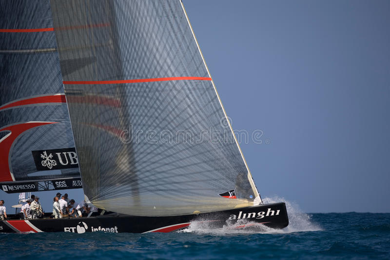 Download 32nd America's Cup editorial stock photo. Image of sailing - 12788893