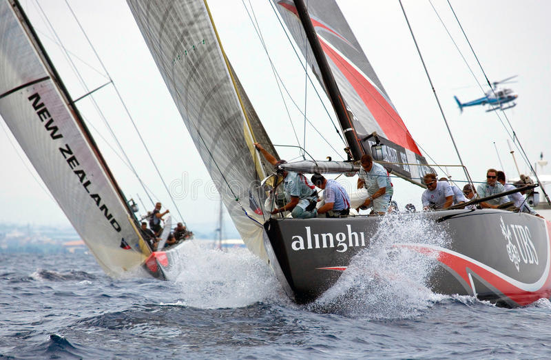 32nd America's Cup royalty free stock images