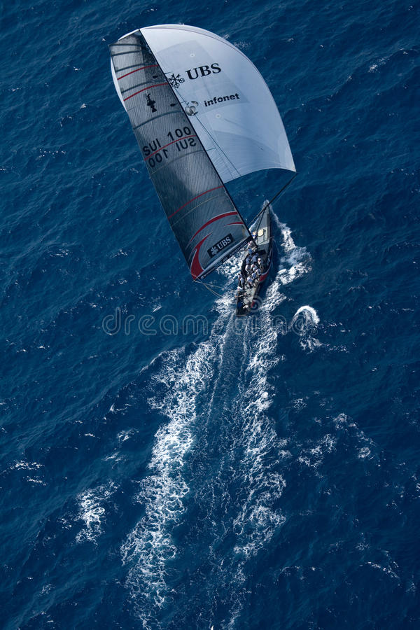 Download 32nd America's Cup editorial photo. Image of alinghi - 12789026