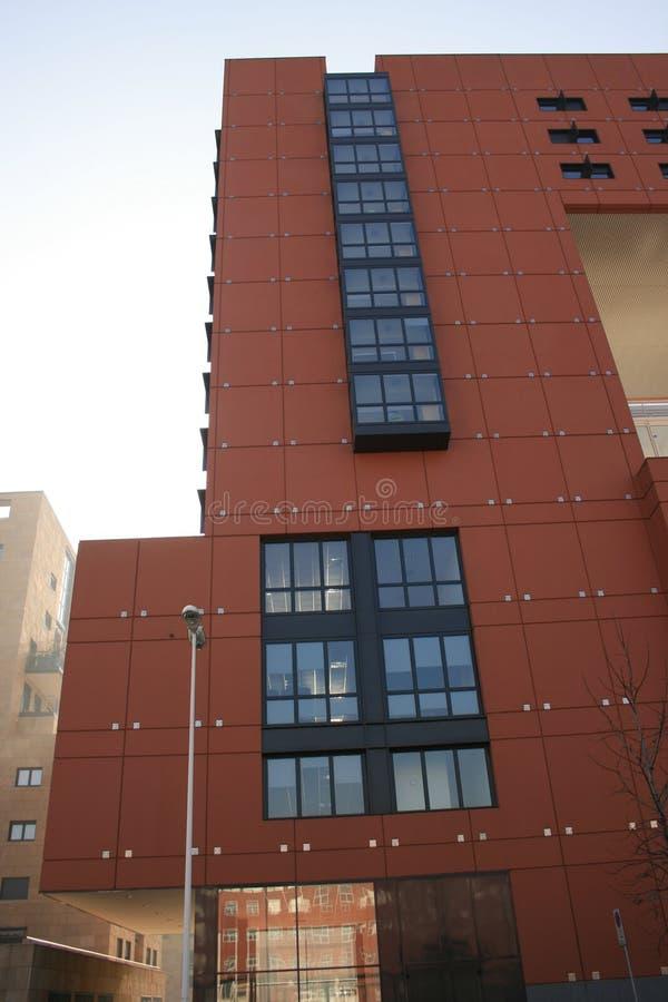 33个曲拱bicocca大厦意大利la米兰 图库摄影
