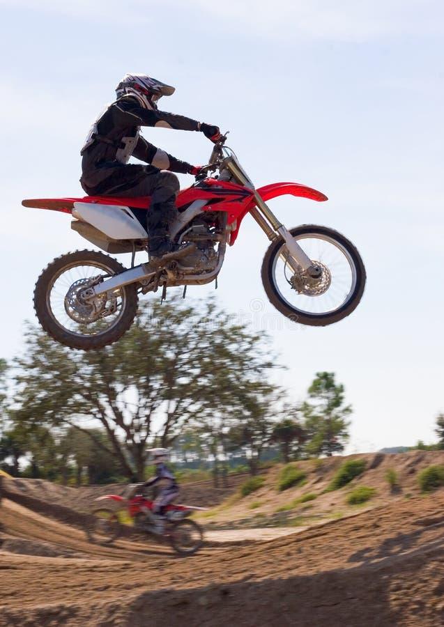 33摩托车越野赛 免版税库存照片