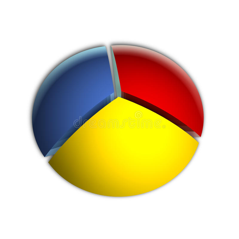 Download 33% Business Pie Chart stock illustration. Image of diagram - 18281615