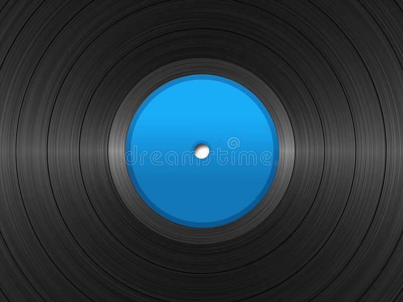 Download 33 RPM Record stock illustration. Illustration of player - 1941847