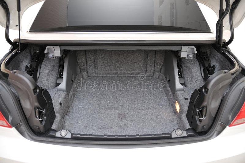 335i bak den öppna bmw-bilcabrioleten arkivfoto