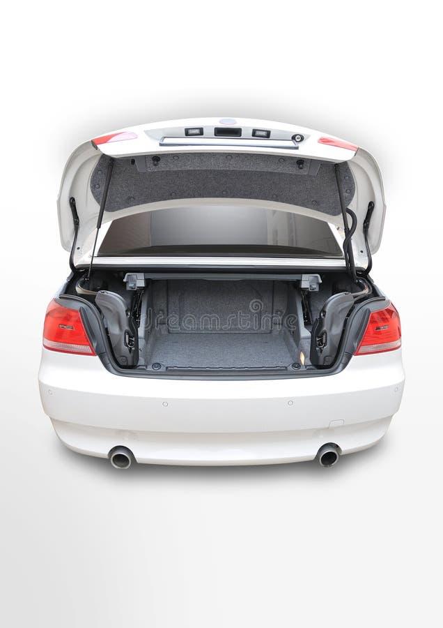 335i bak den öppna bmw-bilcabrioleten fotografering för bildbyråer