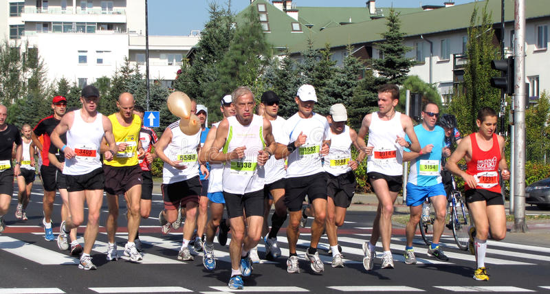 Download The 33rd Warsaw Marathon, September 25, 2011 Editorial Photography - Image: 21305542