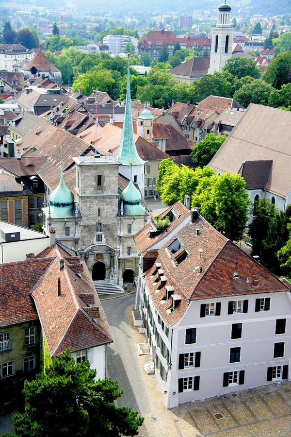 34 взгляда города старых стоковое фото