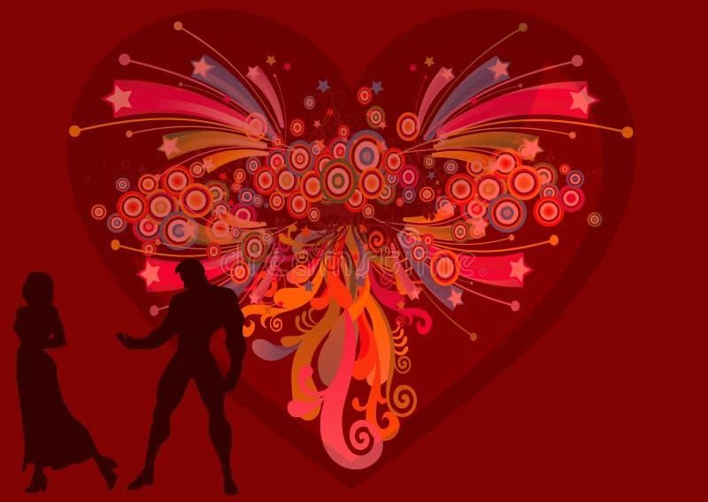 34 mój valentine byli ilustracja wektor