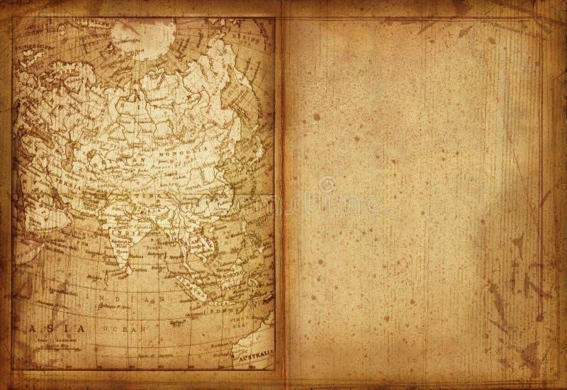 34 mapa Asia ilustracja wektor