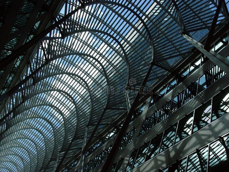 蓝色天窗多伦多 免版税图库摄影
