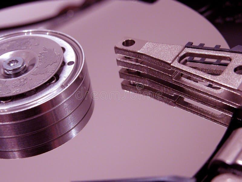 被开张的盘坚硬 库存照片