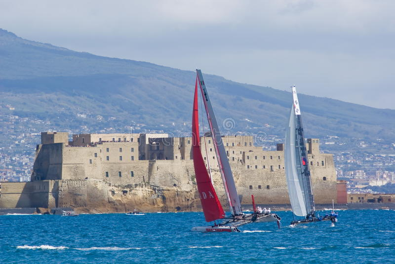 Download 34th America's Cup World Series 2012 In Naples Editorial Photography - Image: 24302012