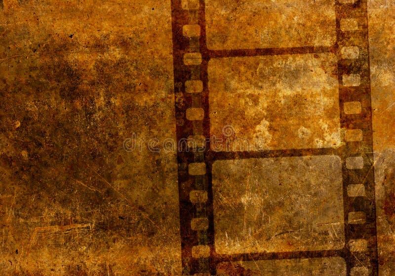 35影片mm电影卷轴钢板蜡纸葡萄酒 皇族释放例证