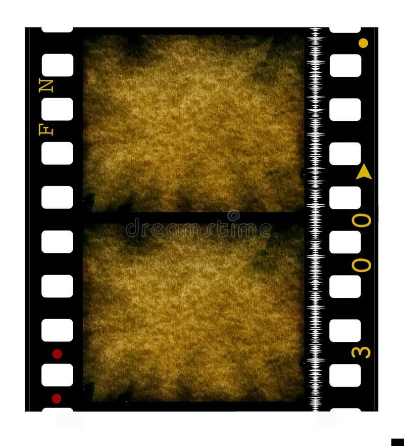 35影片mm电影卷轴 库存例证